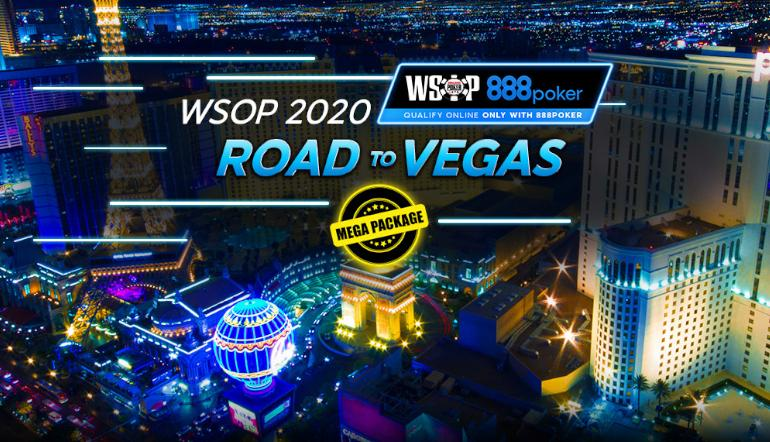 Win a WSOP Package for as low as $0.01 on 888Poker