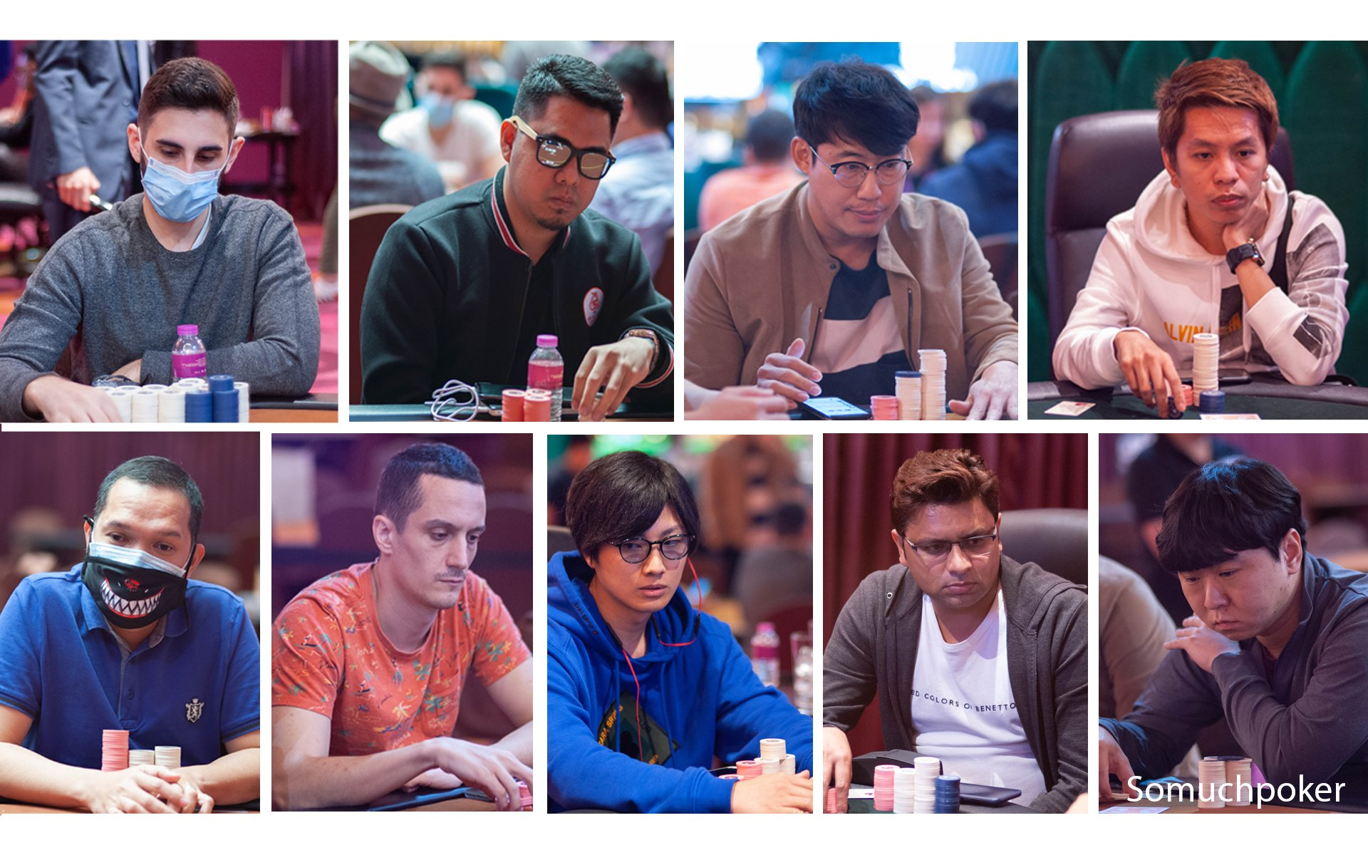 WPT Philippines Main Event: Meet the 9 Finalists