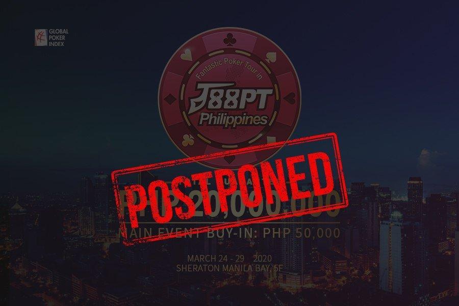 COVID-19: J88PT Philippines postponed