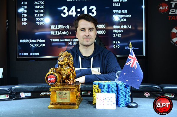 APT Taiwan 2020: Hamish Crawshaw wins the Main Event; Chan Lok Ming crushing the side events