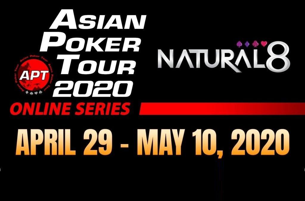 Asian Poker Tour announces Online Series on Natural8