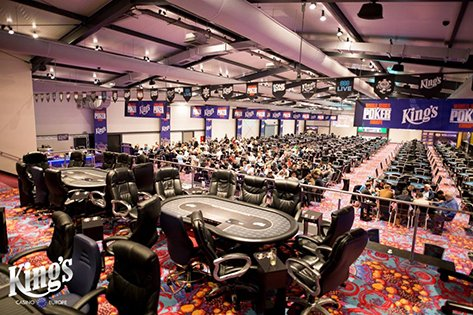 King's Casino poker room