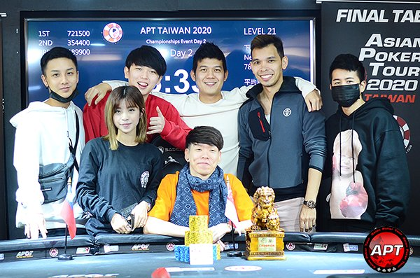 APT Taiwan 2020 closes with Chan Lok Ming awarded Player of the Series; Wilson Lim wins Championships Event