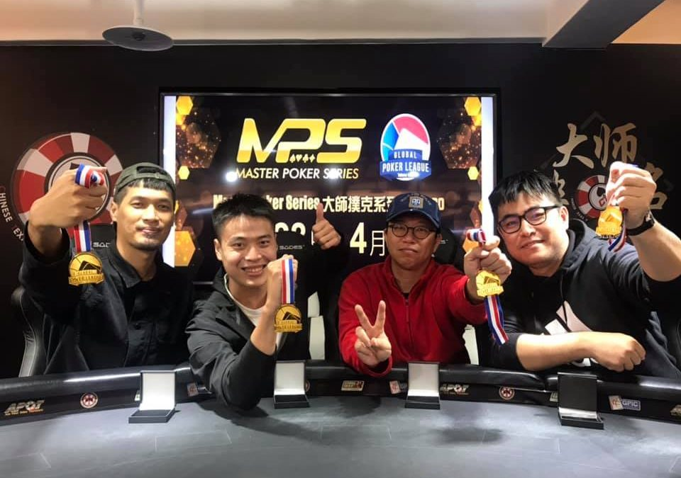 Live poker alive and well in Taiwan with Global Poker League and Masters Poker Series