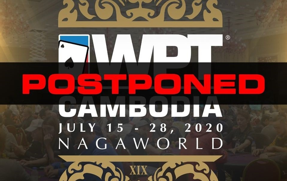 World Poker Tour (WPT) Cambodia Main Tour Postponed; WPT Korea Up Next