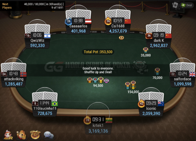 WSOPC Series: $50 Daily Main
