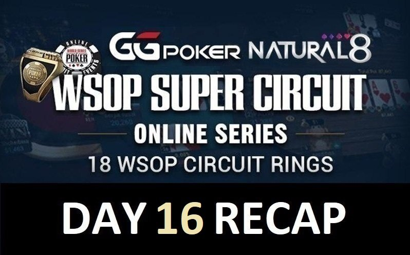 Natural8-WSOPC: Natural8 Team Hot Kosei Ichinose runs deep at the $500 Daily Main; first WSOPC win for Golden snitch