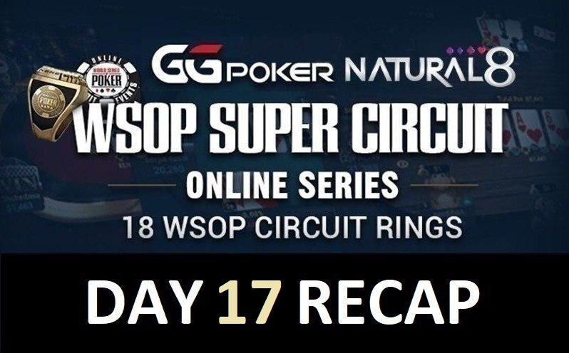 Natural8-WSOPC: NeverGambol comes from behind to win Ring Event #11; LeFlaneur & AlwaysWithNuts win $10K HR sides