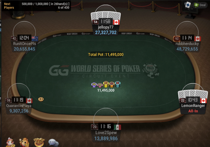 WSOPC Ring Event #16: PLO MAIN EVENT