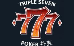 777 Triple Seven Poker Club logo