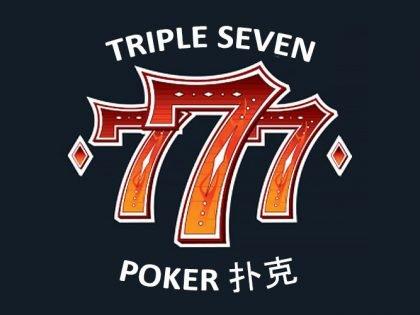 777 Triple Seven Poker Club logo