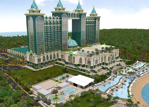 Emerald Bay casino resort in Mactan