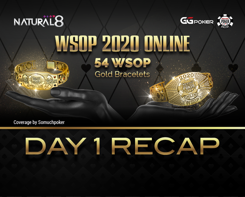"2020 WSOP Online - Natural8: The Opener sets new record but bugs out; two events postponed; Shoma Ishikawa ""pp_syon"" captures his first WSOP bracelet"