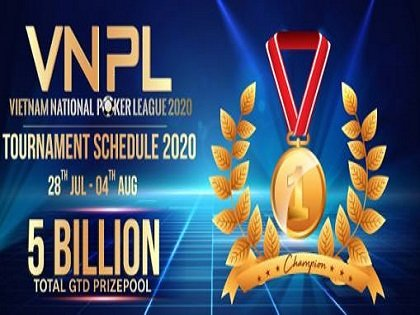 Vietnam National Poker League 2020 Schedule