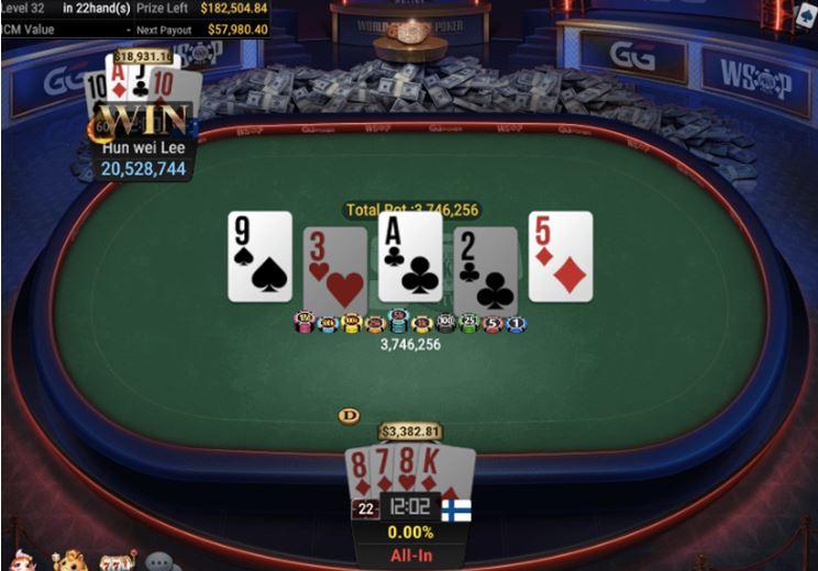 WSOP 37 1050 Bounty Pot Limit Omaha