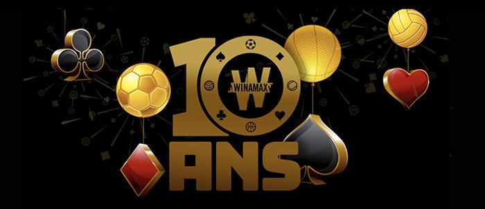 Winamax 10th Anniversary