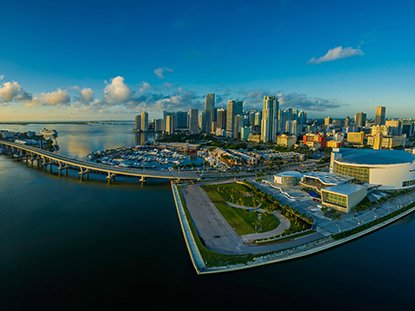 Panorama Of City And Sky In Miami Florida 4