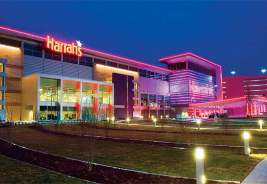 Harrahs Casino outside