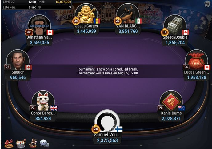 High Rollers Super MILLION 10K 2M GTD 2 Day Event Final Table