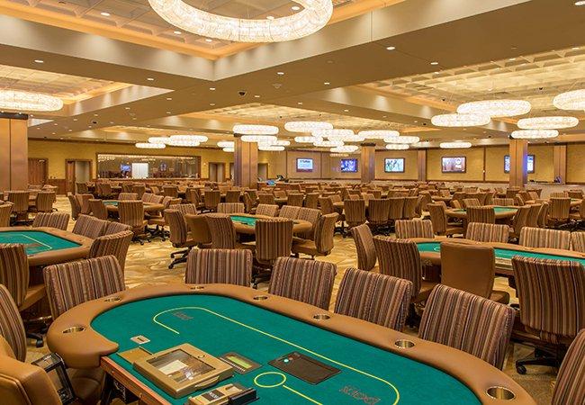 Ruang poker kasino Parx