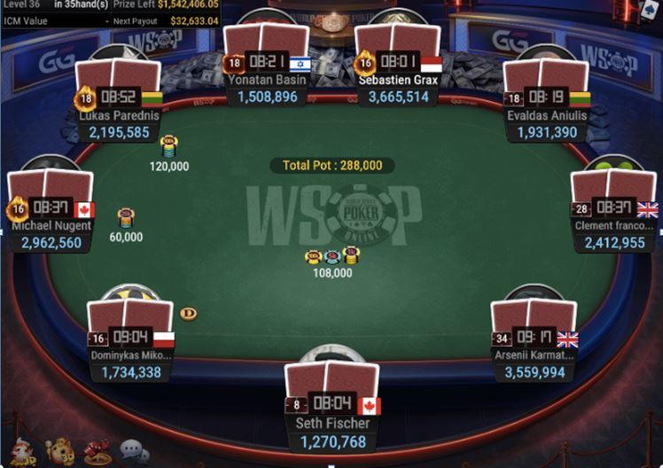 WSOP 56 1500 GGMasters WSOP Edition High Roller Final Table