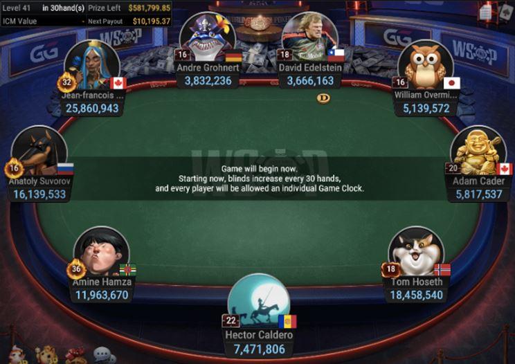 WSOP 57 150 GGMasters WSOP Edition Freezeout Final Table