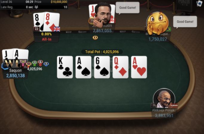 WSOP 70 25000 NLH POKER PLAYER CHAMPIONSHIP Three Of A Kind For Pillai