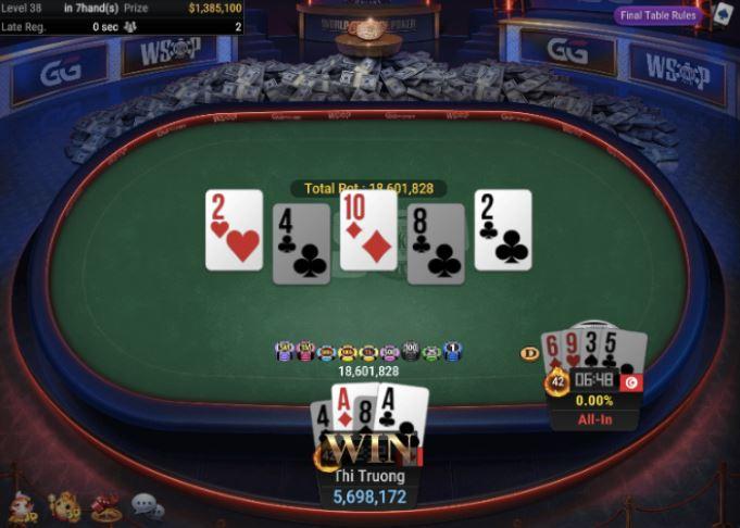 WSOP 74 1500 Pot Limit Omaha