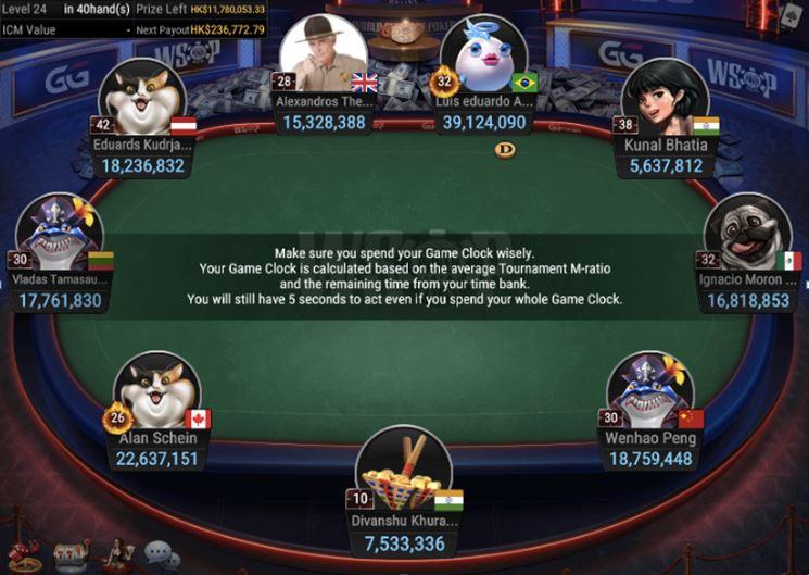 WSOP55 HK 8000 NLH Asia Championship Final Table