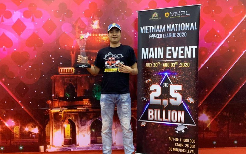 Vietnam National Poker League Main Event Champion