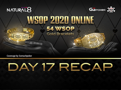 "2020 WSOP Online – Natural8: Enrico Camosci ""GTOExploiter"" wins a bracelet at the NLH Bounty Championship; added WSOPE Package for next two events"