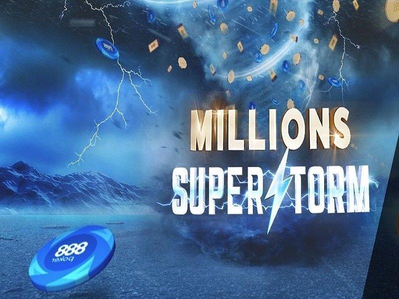 888poker Millions Superstorm 2020 schedule
