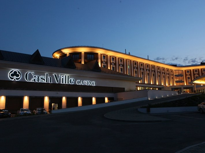 CashVille Casino Outside