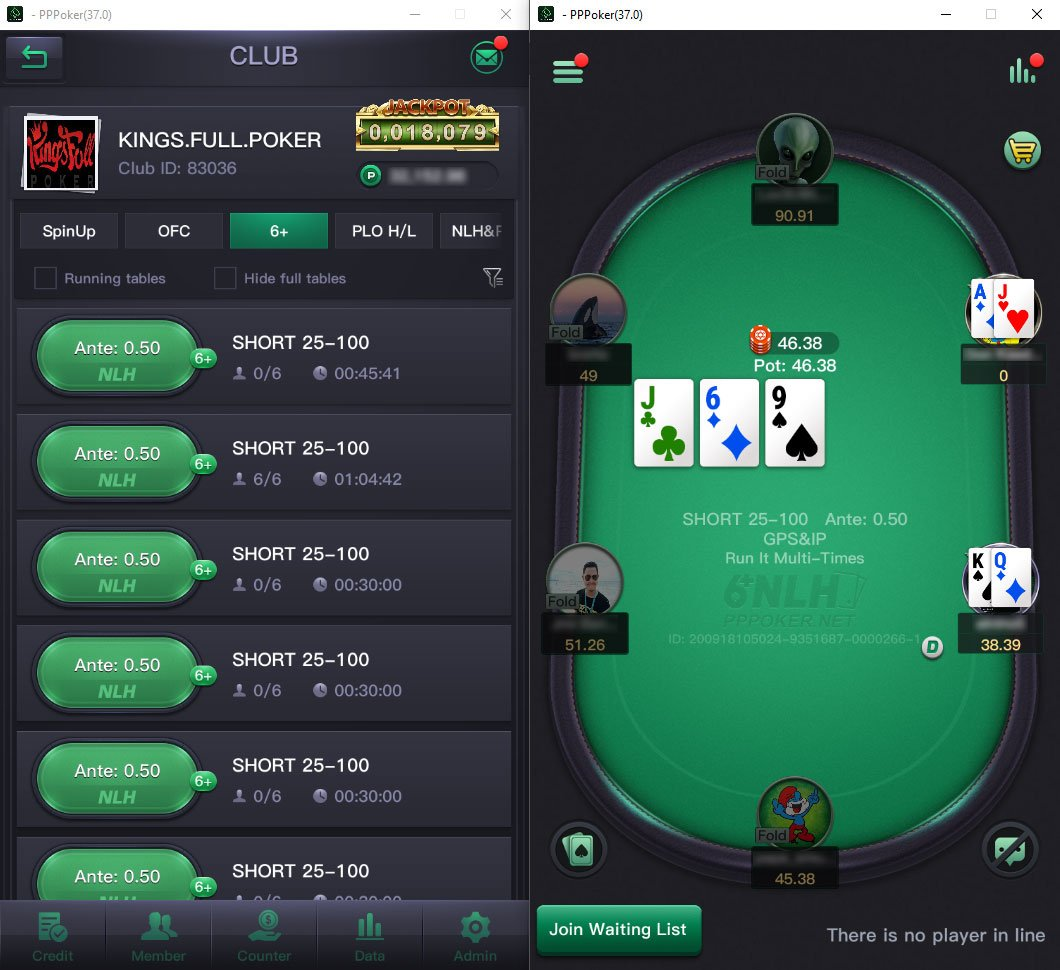 Kings 6plus Lobby Table