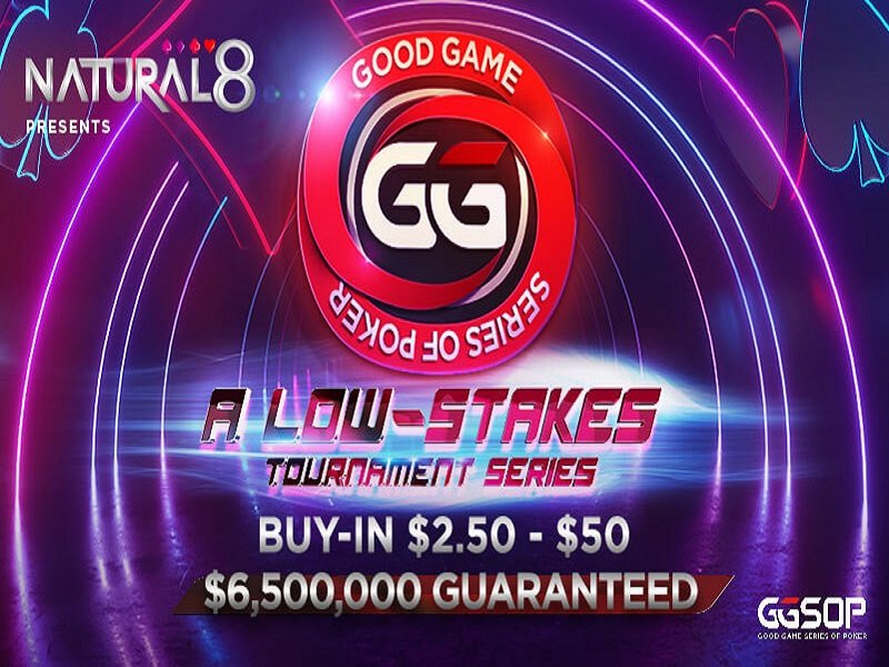 GGSOP online poker tournaments currently running on Natural8 for low stakes players; Over $6.5 million in guarantees