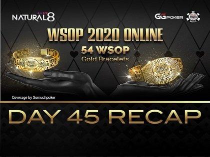 2020 WSOP Online - Natural8: $25K Heads Up NLHE halts at Final 4 players; Fedor Holz on a rush, wins $10K High Roller side event