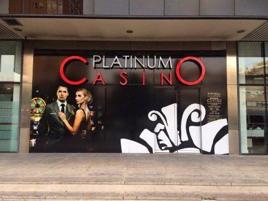 Platinum Casino Split Outside