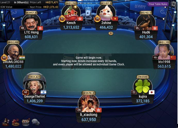WPT Trophy 14 PLO Bounty Final Table