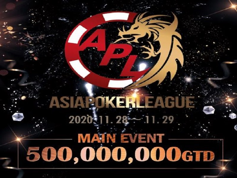 Asia Poker League (APL) Seoul Finale 2020 Schedule