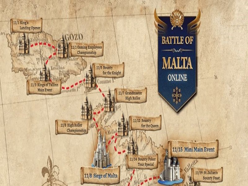 Battle of Malta 2020 Online Schedule