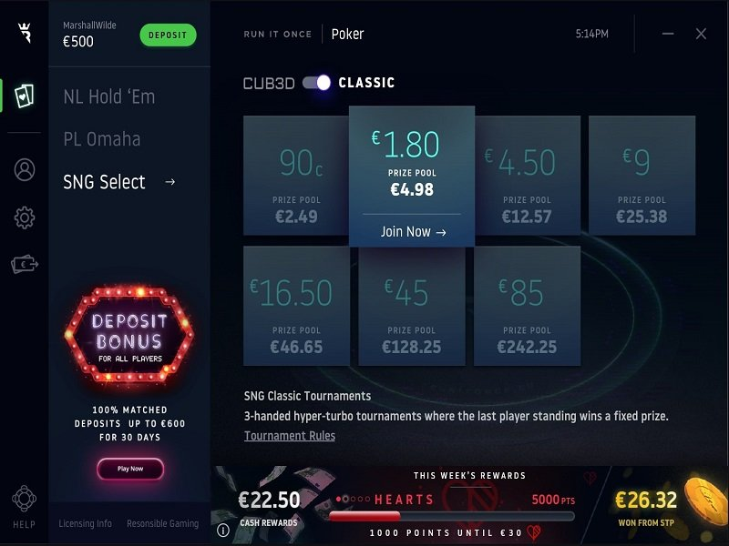 Online Poker News: Run It Once Announces SNG Select; PPPoker introduces 3-1 NLHE; Betsson & Betsafe leave UK market; Spain against VPN; Guinness World Records for GGPoker and WSOP