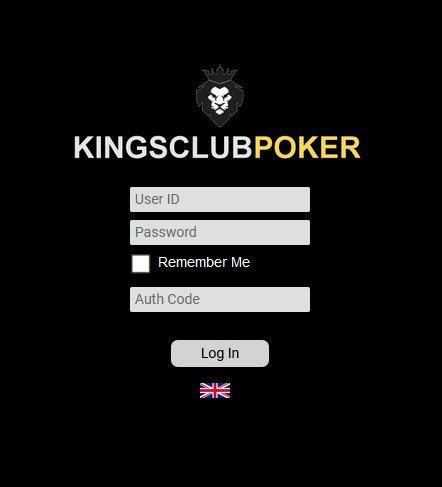 KingsClubPoker Login