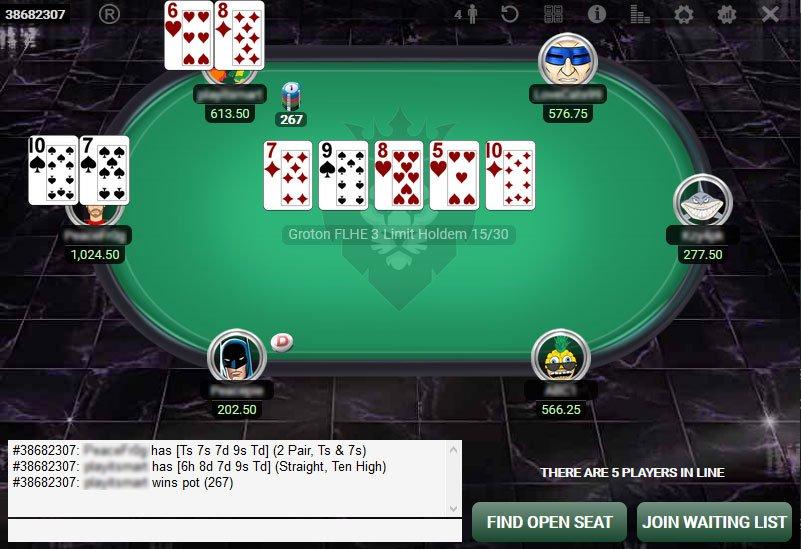 Limit HEM Hi Stakes KingsClubPoker