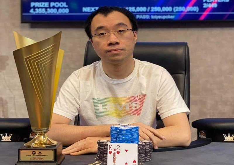 VSOP Championship II awards VND 15 Billion in prizes, Hoang Ngoc Tai wins the Main Event title