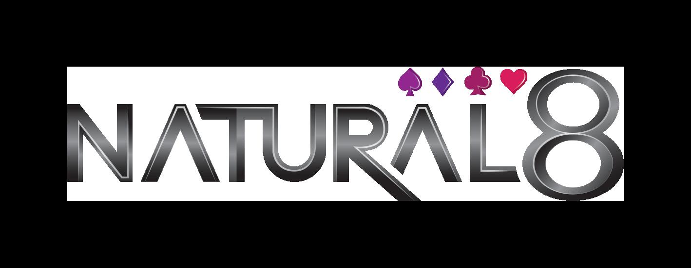 Natural8 3D Logo Black FA 2