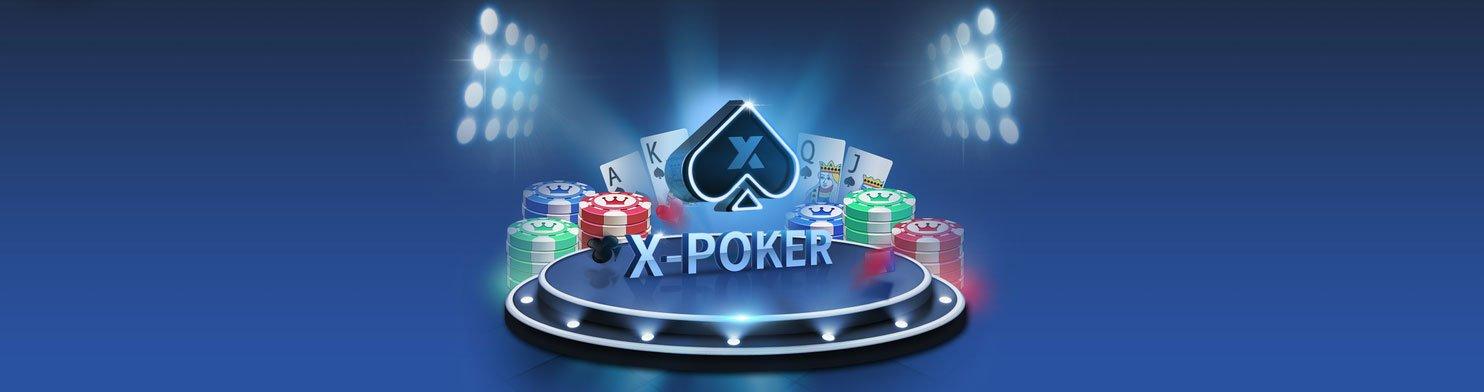 X Poker Top Bar