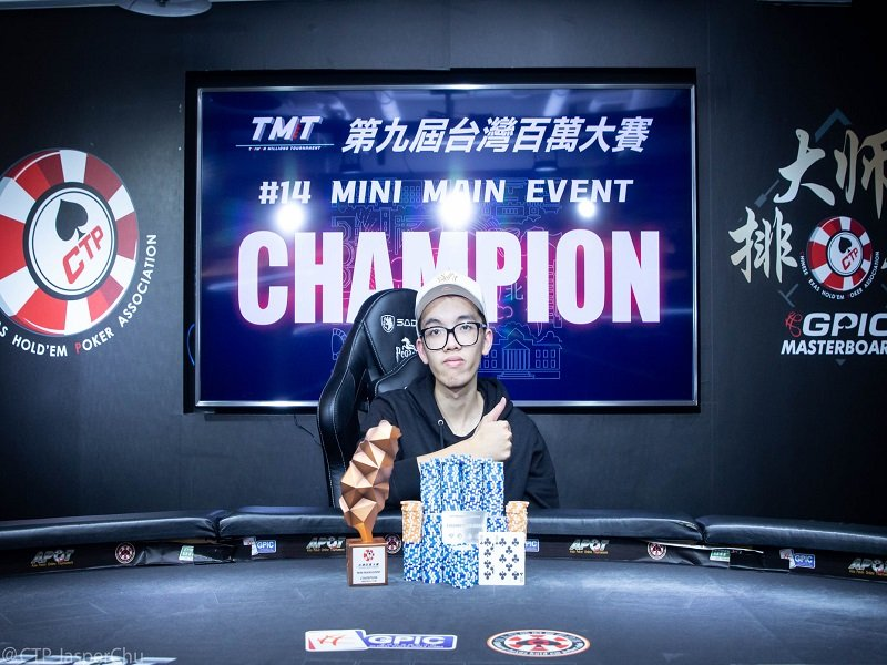 TMT 9 X APT: Opening half results sees Chan Lok Ming bag two major events; Zong Chi He, David Tai, & Chih Kai Chen among the winners; Kun Han Lee tops Main Event Day 1A