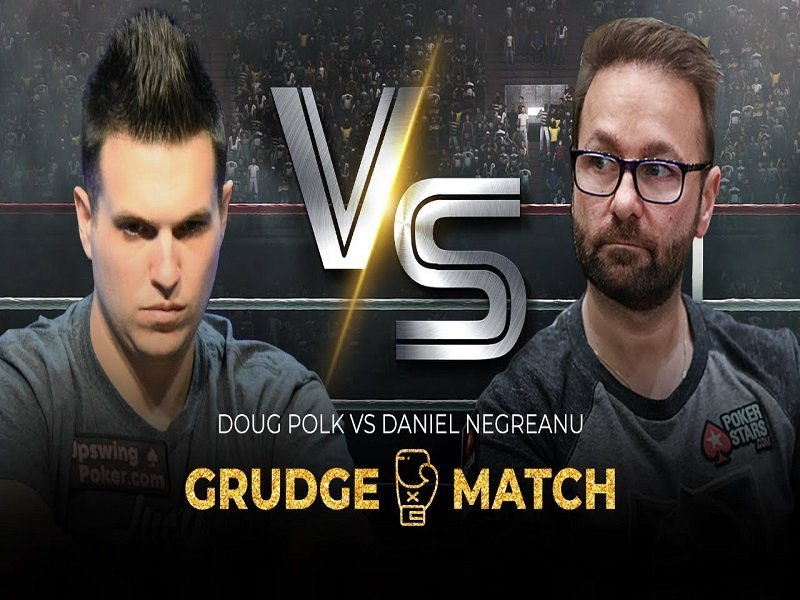 Negreanu vs Polk challenge:  Negreanu capturing the lead for over $155k after seven sessions