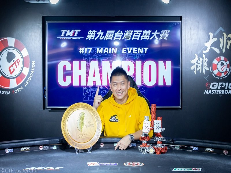 TMT 9 X APT final week results: Chen An Lin ships the Main Event; Chan Lok Ming scores Player of the Series; Zong Chi He & Kun Han Lee win APT SHR titles