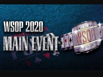 WSOP 2020 Main Event begins tonight on Natural8